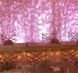 i do events wedding decor backdrops draping lighting wedding