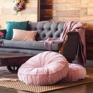 Pillows, Poufs, Throws