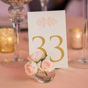 Table Numbers & Holders