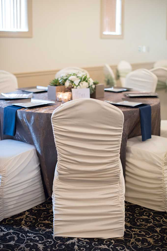 Ruched Chair Covers